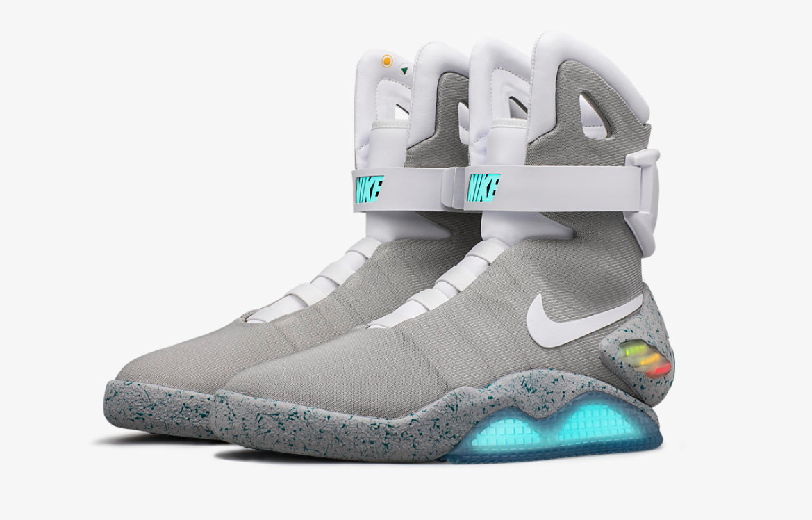 best service 3040c 61c1e Nike Air Mags Sold For World Record 52,500